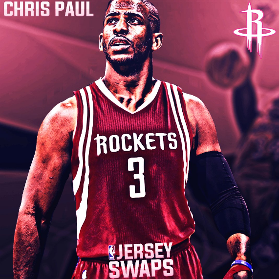 Chris Paul Traded to the Rockets!